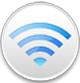 AirMacユーティリティのアイコン。Finder→アプリケーション→ユーティリティ→AirMacユーティリティで表示されますのでダブルクリックで起動させます。