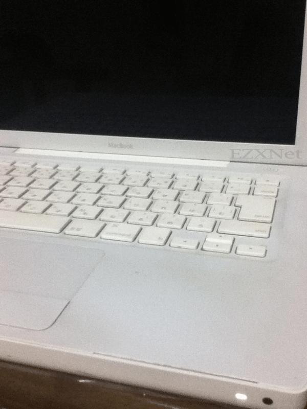 パームレストが割れてしまったMacbook 2