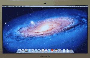 初期設定が完了しました。 完了するとデスクトップが表示されます。