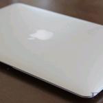 MacbookAirの開封式