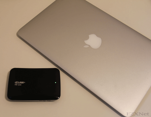 Macbook AirとPWR-Q200