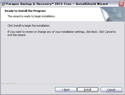 """インストールの準備の確認になりますので""""Install""""をクリックします。"""