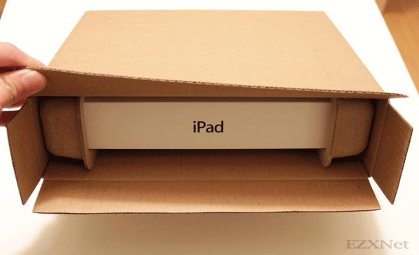 外箱を開けるとiPadの箱が出ました。