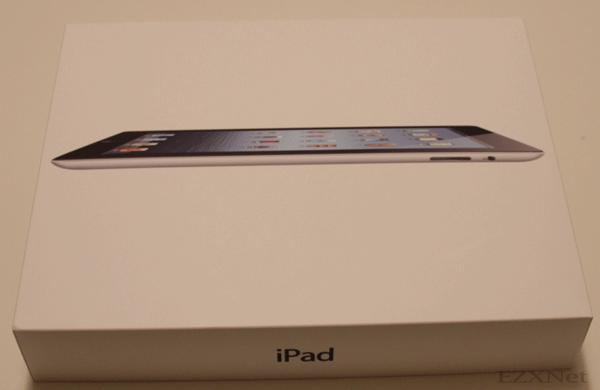 iPadの化粧箱