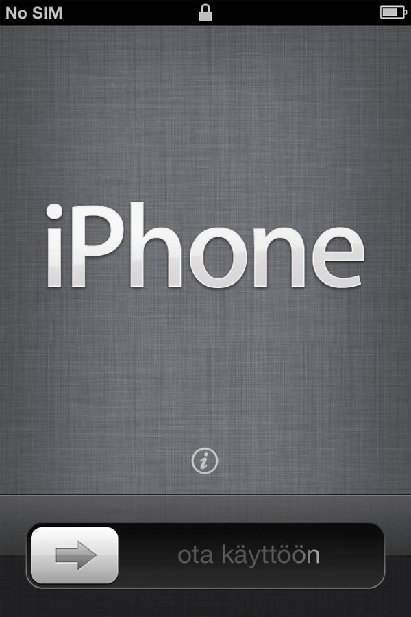 iPhone4Sの初期設定