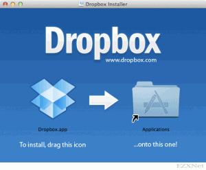 Dropboxをインストール