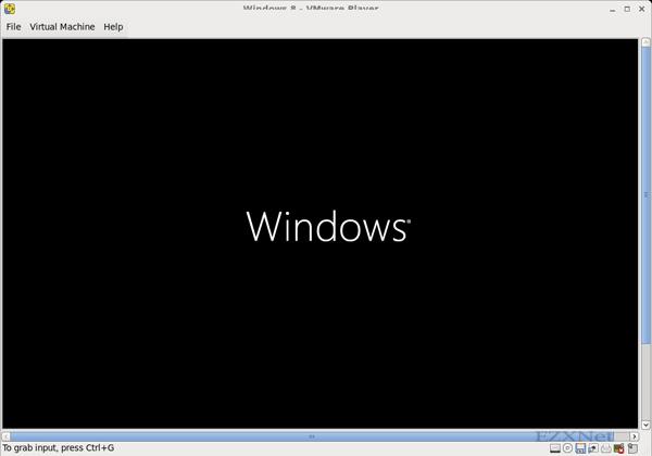 Windowsのロゴが表示されました。