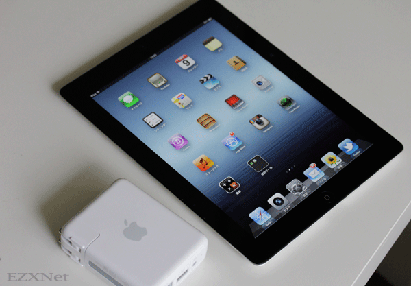 iPadとAirMac Express