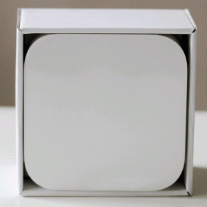 箱を開けたところ