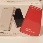 モバイルルータデビュー WiMAX URoad-SS10が届いた
