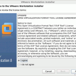 VMware WorkStaion8.0のインストール
