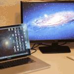 Macに外部ディスプレイを接続