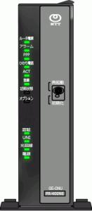 ひかり電話ルータ (PR-400MI)