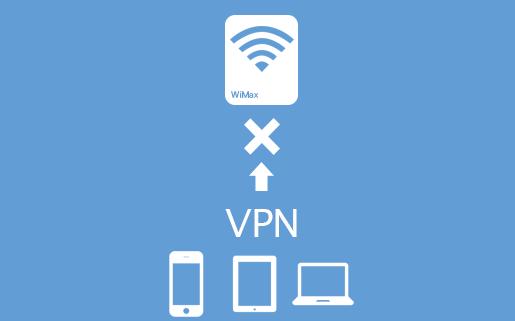 VPN接続を通さない