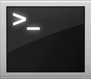 Finder→アプリケーション→ユーティリティ→ターミナルと開いていきます。