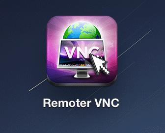 タップして「Remoter VNC」を起動します。