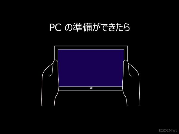 Windows8の使用方法の説明