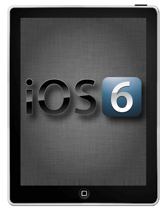iPadの初期設定 iOS6版