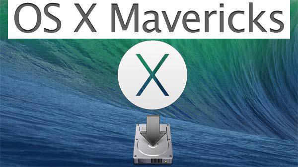 MacOSX10.9 Mavericksのクリーンインストール方法