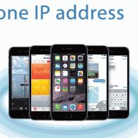 iPhone6 IPアドレスの確認方法