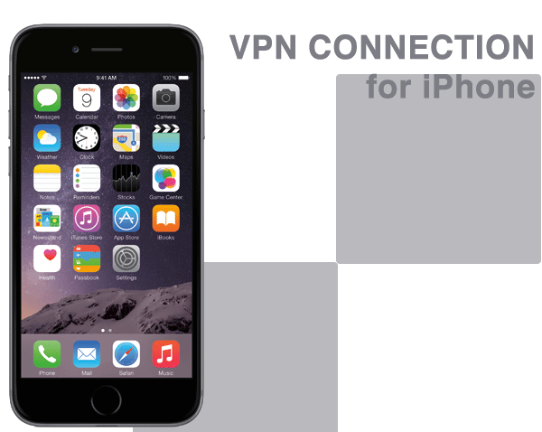 iPhone6、iPhone6 PlusでVPN接続設定する方法