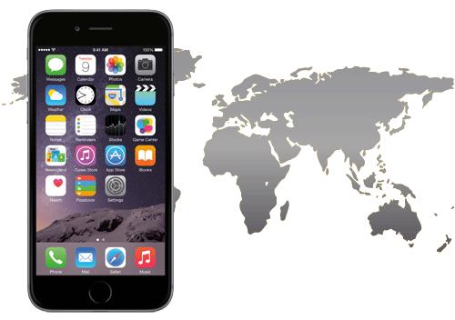 iPhone6 言語の設定変更方法