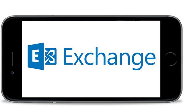 iPhone6 Exchangeサーバのメールを取得する設定方法
