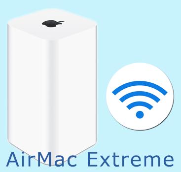 AirMac Extreme 802.11acの設定情報をファイルから復元する方法