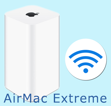 iPhone6 AirMac Extreme 802.11acの5GHzを設定する方法