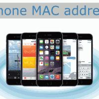 iPhone6 MACアドレスの確認方法