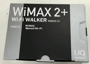 Wi-Fi WALKER 2 HWD15開封