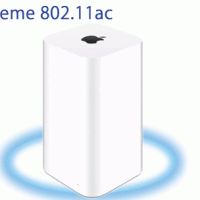 iPhone6からAirMac Extreme 802.11acの初期設定時にブリッジ設定にする方法