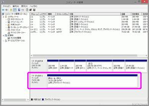 ディスクがExFAT形式にフォーマットされました。