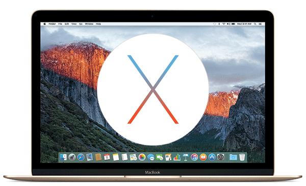 Mac OS X 10.11 El Capitanのクリーンインストールする方法